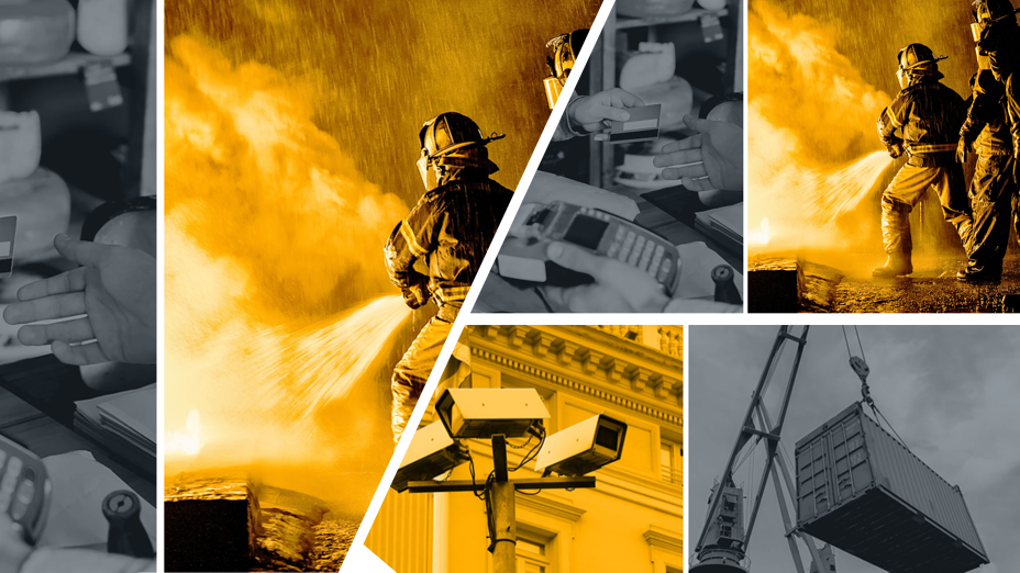 Cradlepoint wireless use cases retail firefighting maritime