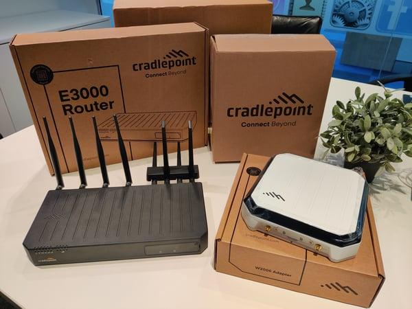 E3000 router + W2000 adaptor-1