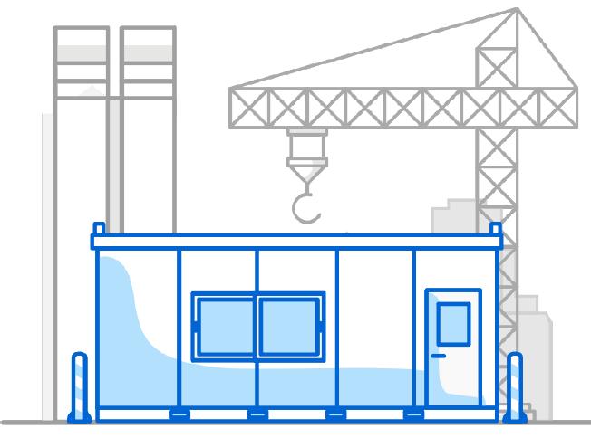 EEW Use case semi-temporary sites