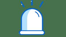 EEW alarm transparent