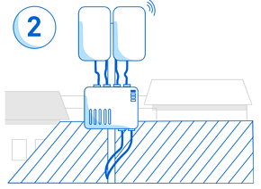EEW step 2 - install antenna