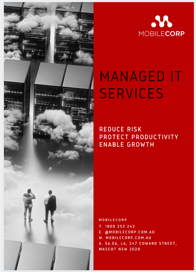 Managed IT Services brochure cover