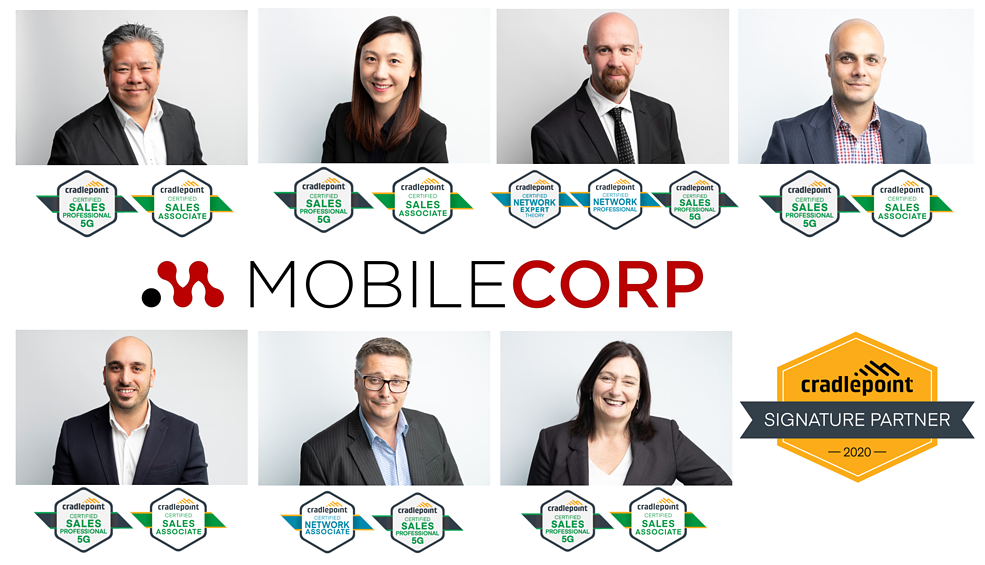 MobileCorp-Team Cradlepoint Signature Partner