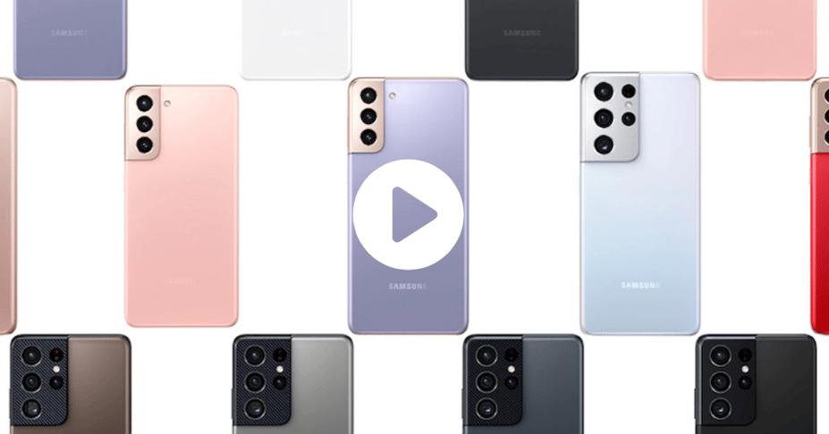 Samsung galaxy s21 series 2021