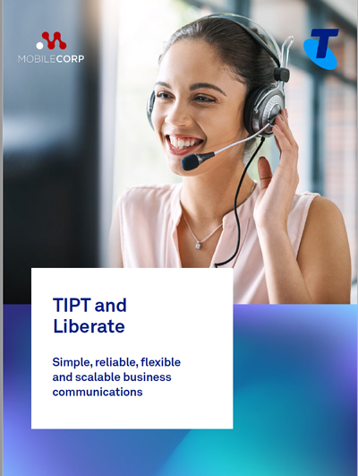 TIPT and Liberate Brochure Cover