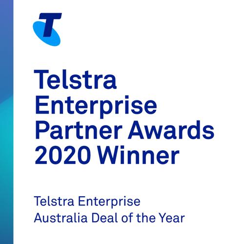 Telstra Enterprise Australia Deal of the Year - Social - Winner