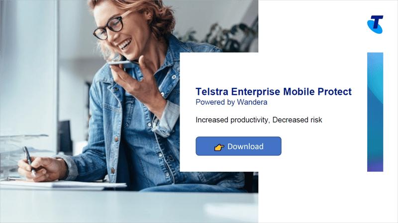 Telstra Enterprise Mobile Protect brochure download
