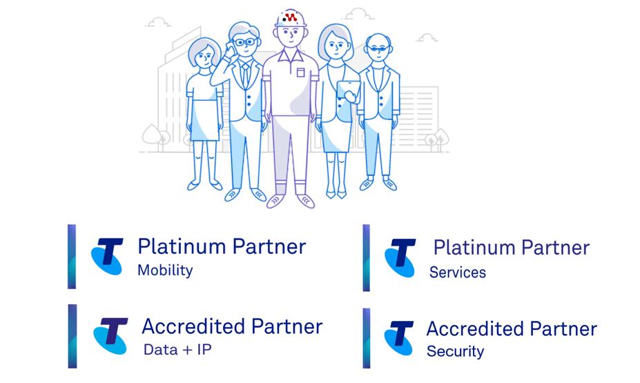 Telstra Partner FY22 accreditations