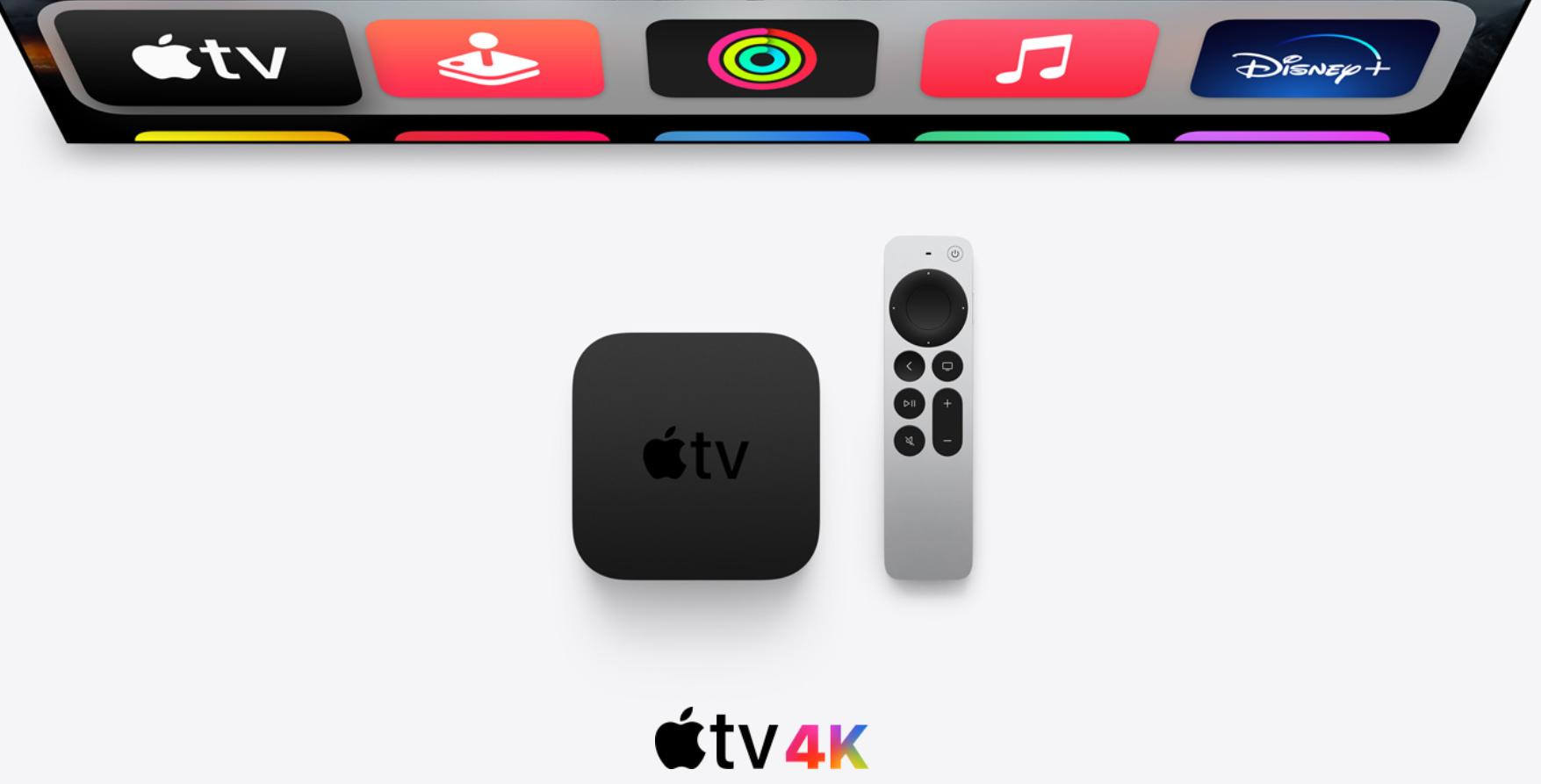 apple tv remote 2021