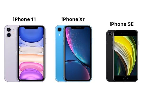 iPhone-SE-2020-vs-iPhone-11-vs-iPhone-XR