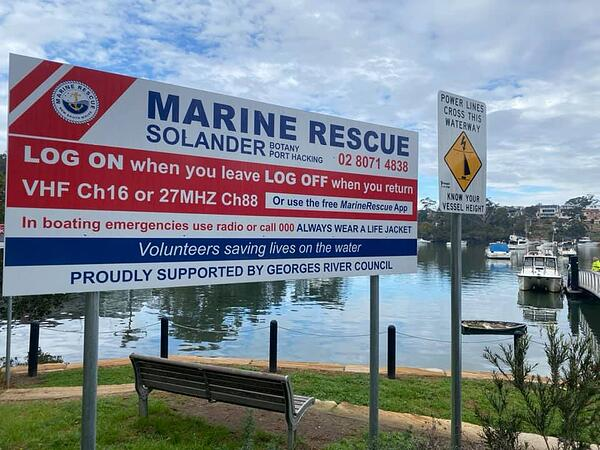 marine rescue solander
