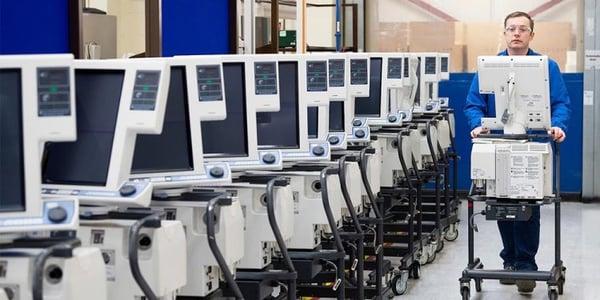 medtronic warehouse equipment