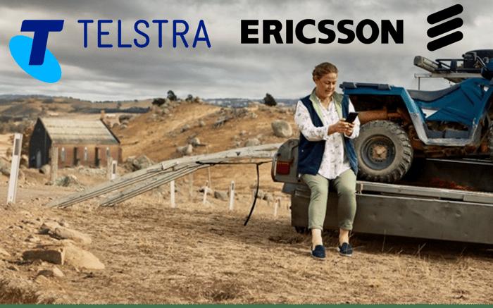 telstra ericsson 5g partnership