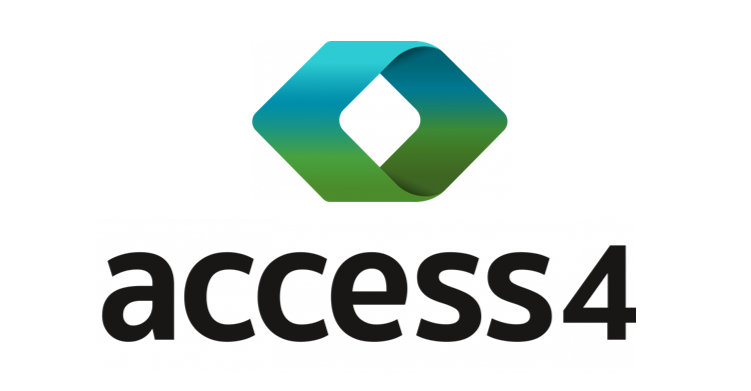 Access4 stacked logo