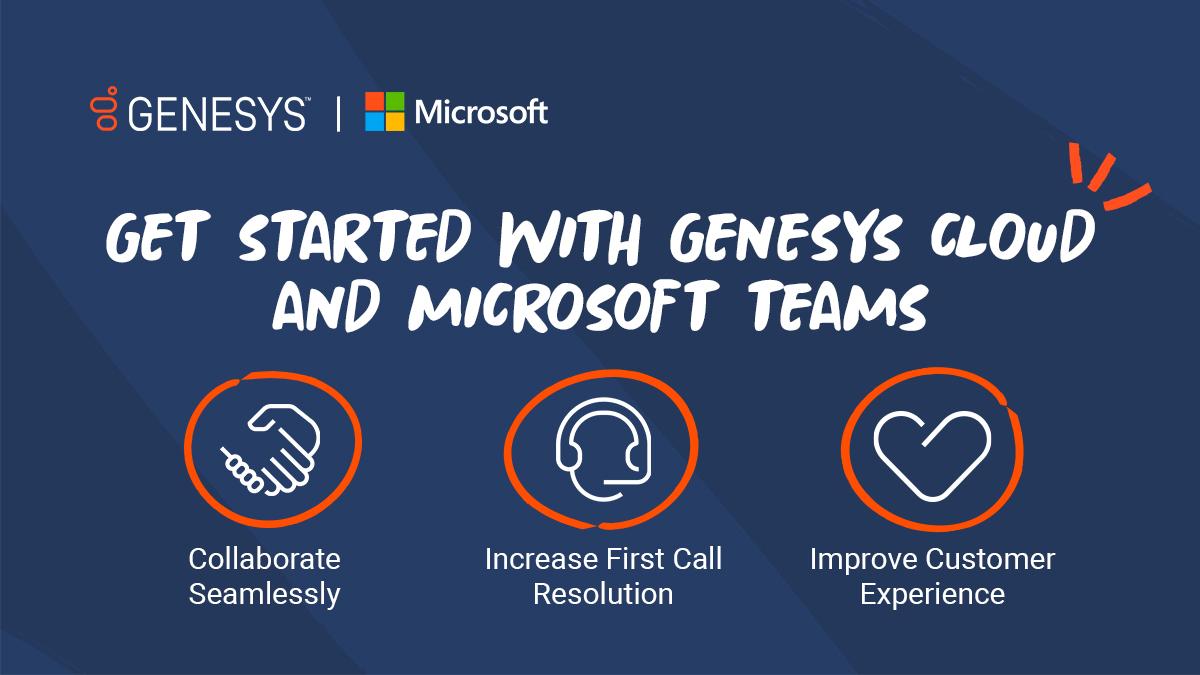 Genesys and microsoft teams