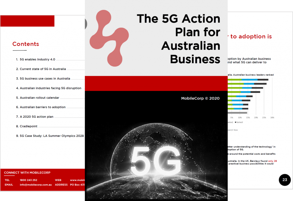 5G Action Plan for Australian Business